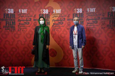 گزارش تصویری هنرمندان میهمان در سومین روز از جشنواره جهانی فیلم فجر