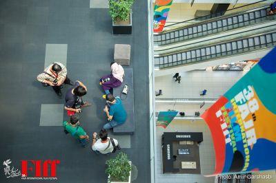 گزارش تصویری حواشی روز سوم سیوهشتمین جشنواره جهانی فیلم فجر/ ۱