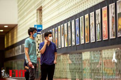 گزارش تصویری نمایشگاهی از گنجینه سینما در طبقه هفتم چارسو