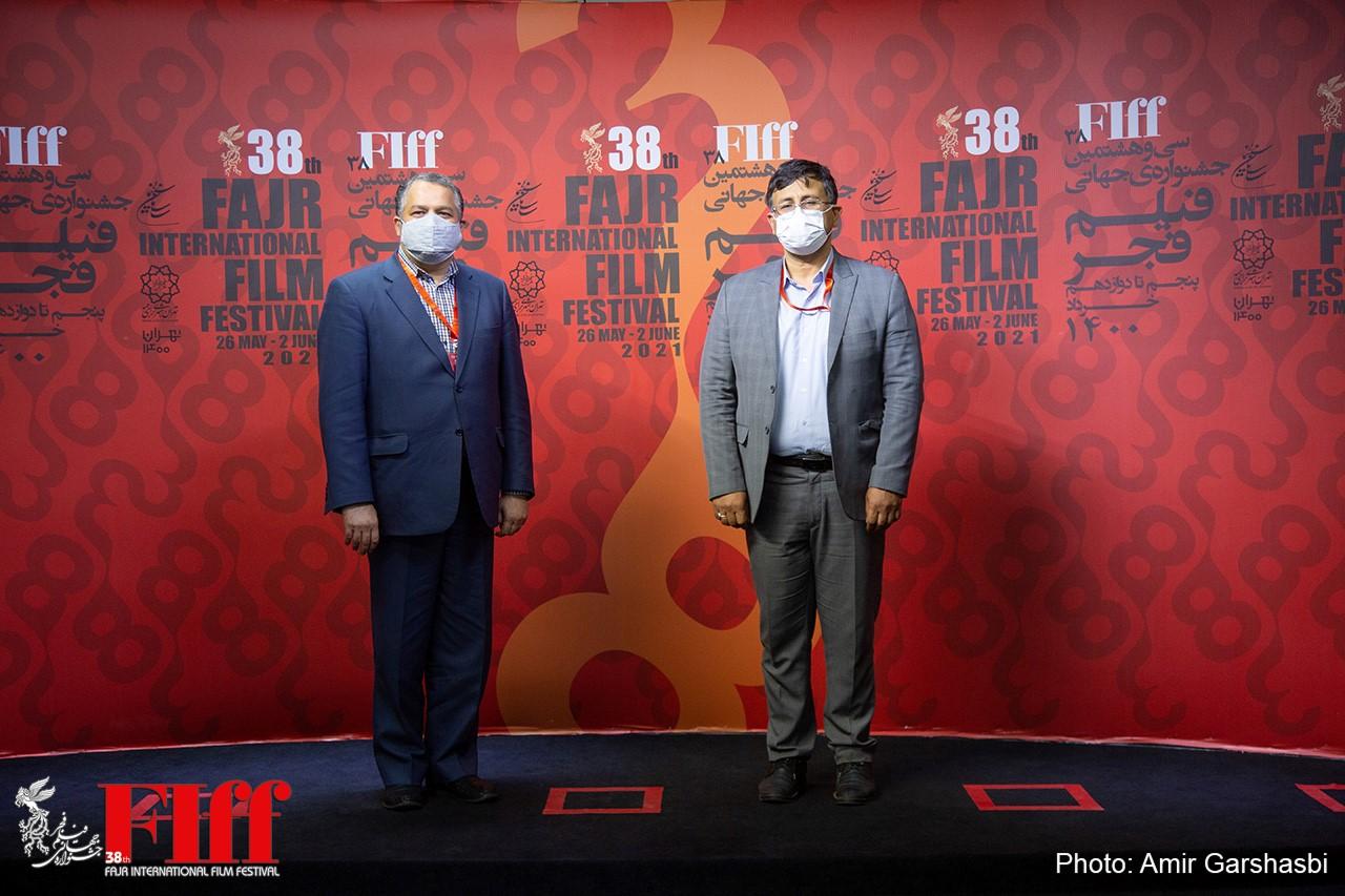 گزارش تصویری بازدید علیرضا تابش و دکتر محمد عیدی از کاخ جشنواره