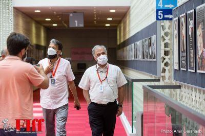 گزارش تصویری بازدید عسگرپور از ستاد برگزاری جشنواره جهانی فجر