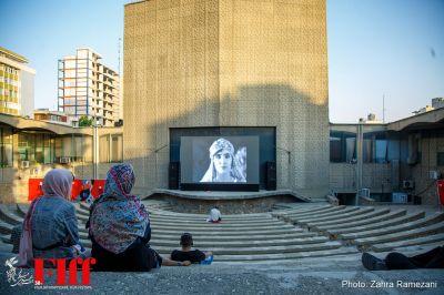 گزارش تصویری نمایش فیلم «دختر لر» در سالن روباز سینما کانون