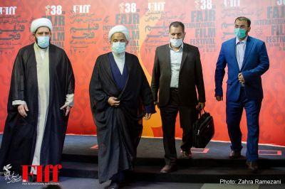 گزارش تصویری بازدید اعضای کمیسیون فرهنگی مجلس از سیوهشتمین جشنواره جهانی فیلم فجر