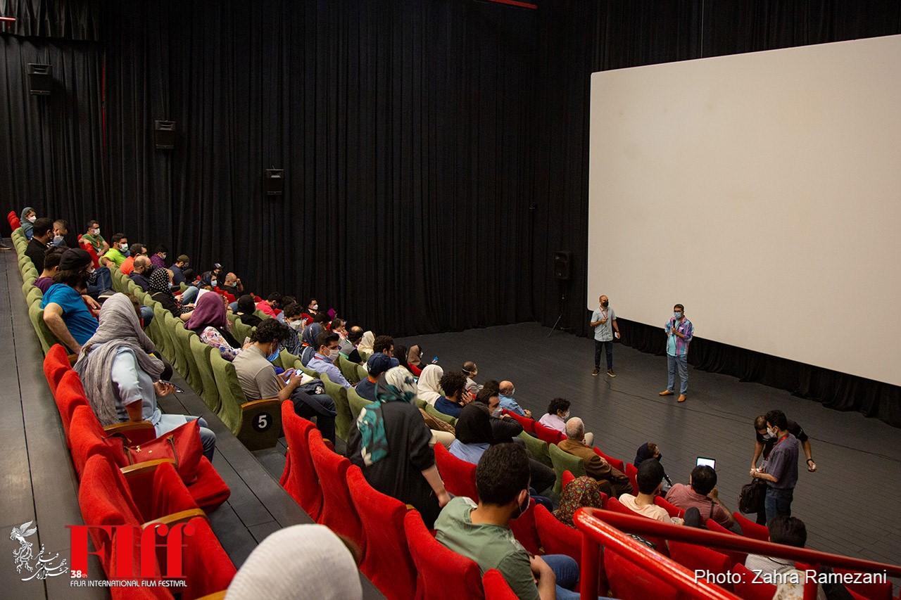 گزارش تصویری معرفی فیلمها در دومین روز از جشنواره جهانی فیلم فجر