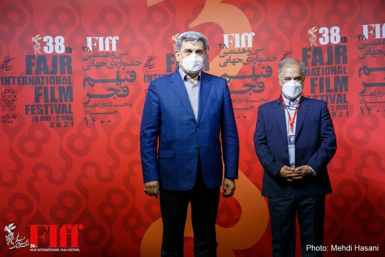 شهردار تهران از سیوهشتمین جشنواره جهانی فیلم فجر بازدید کرد
