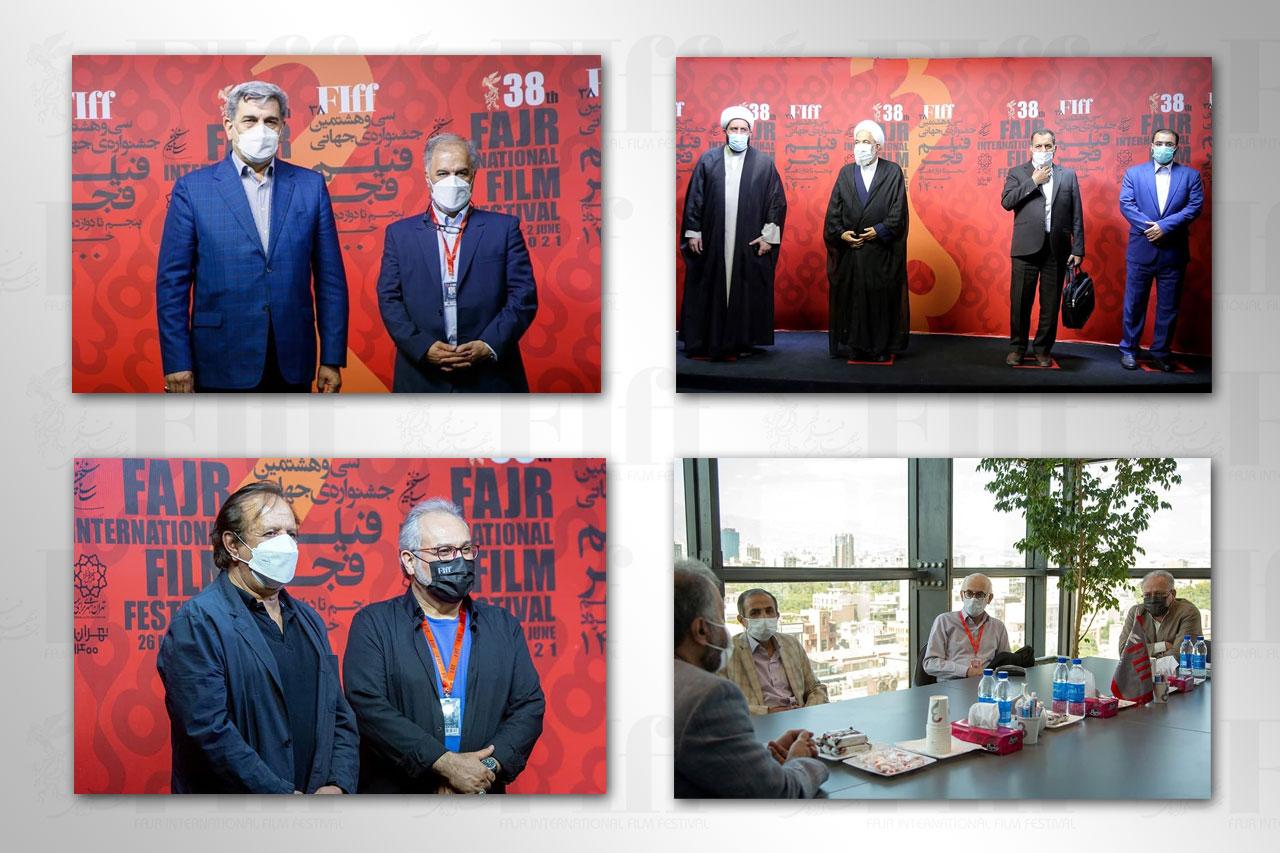 مهمانان ویژه پنج روز نخست سیوهشتمین جشنواره جهانی فیلم فجر