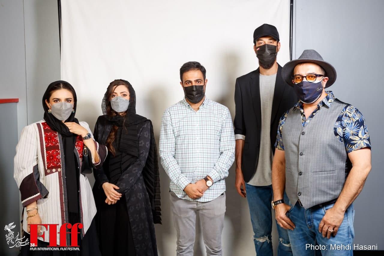 گزارش تصویری حضور عوامل فیلم «صحنهزنی» در جشنواره جهانی فجر