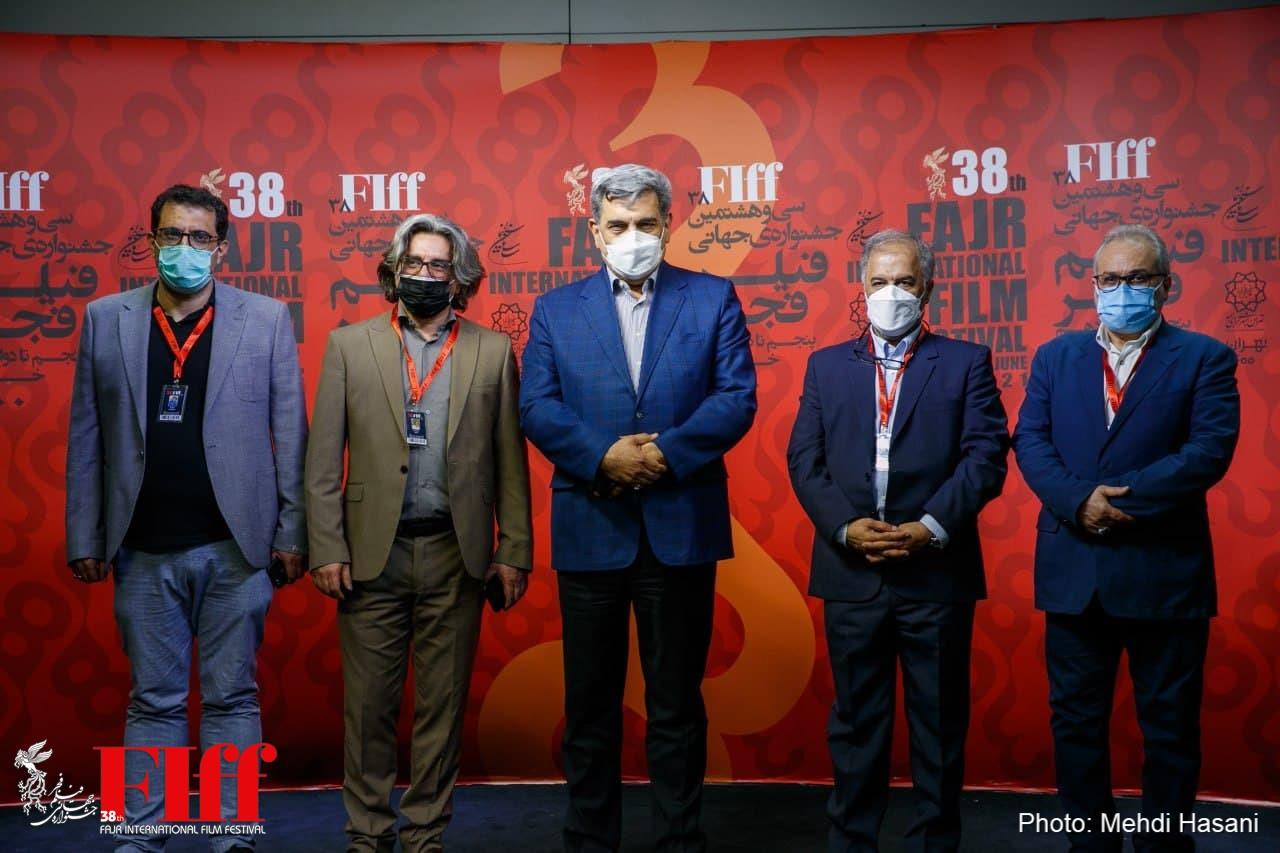 گزارش تصویری بازدید شهردار تهران از سیوهشتمین جشنواره جهانی فیلم فجر