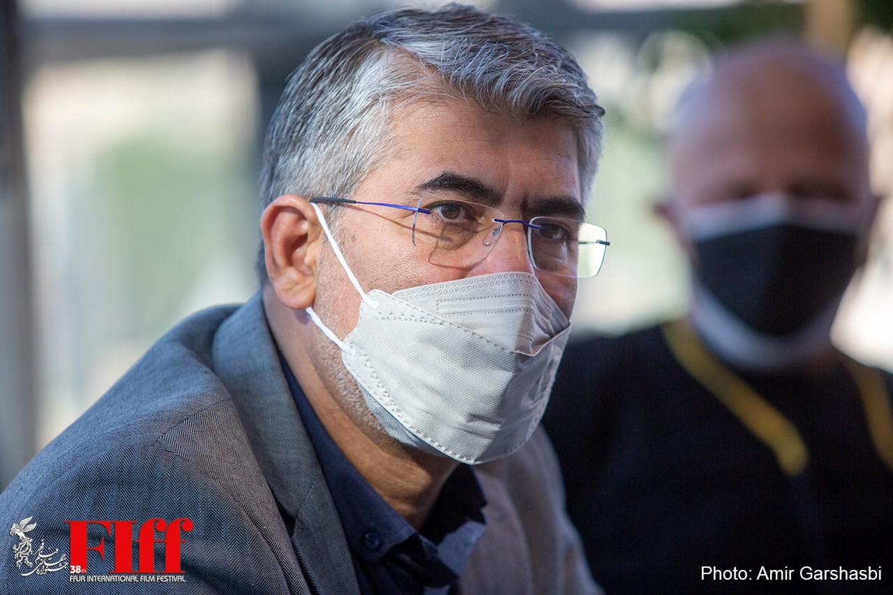 گزارش تصویری بازدید محمد حمیدیمقدم از جشنواره جهانی فیلم فجر