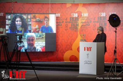 گزارش تصویری مراسم مجازی اعلام برگزیدگان سیوهشتمین جشنواره جهانی فیلم فجر/۱