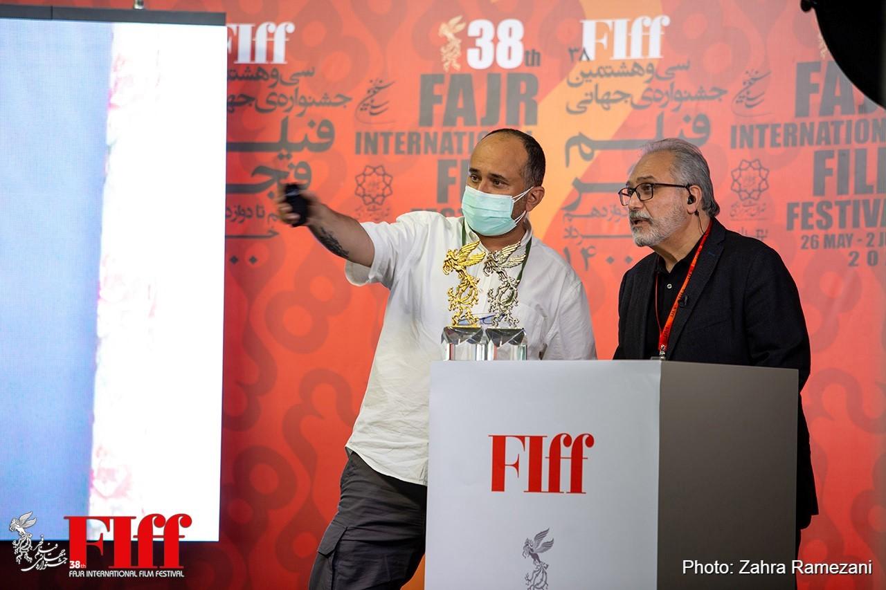 گزارش تصویری مراسم مجازی اعلام برگزیدگان سیوهشتمین جشنواره جهانی فیلم فجر/۲