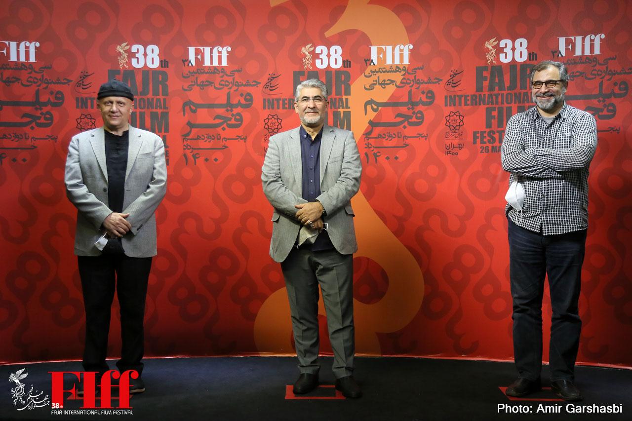 بازدید محمد حمیدیمقدم از جشنواره جهانی فیلم فجر